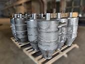 Syklon Produksjon rustfritt stål, syklon avsug for støvsuger