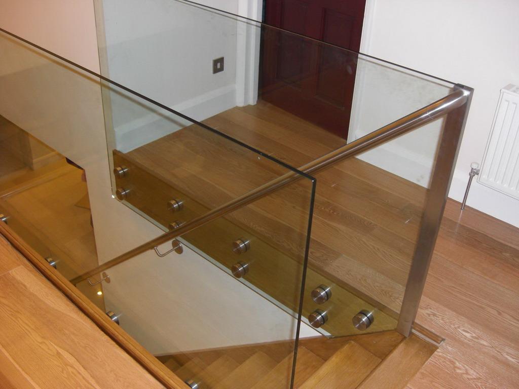 Glass railings for Indoor glass railing